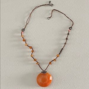 N2453 Moroccan Sunset Necklace